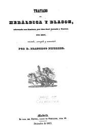 Tratado de heráldica y blason, adornado con láminas