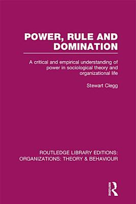 Power  Rule and Domination  RLE  Organizations  PDF