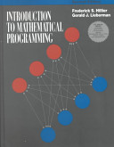 Introduction to Mathematical Programming  With Tutorial Software Disk  PDF