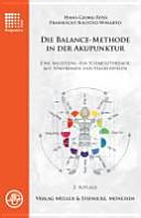 Die Balance Methode in der Akupunktur PDF