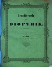 Grundformeln der Dioptrik