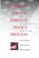 Congress and the Foreign Policy Process