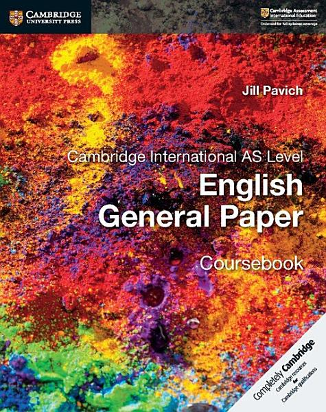 Cambridge International AS Level English General Paper Coursebook PDF