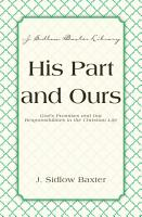 His Part And Ours PDF