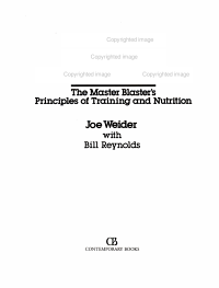 Joe Weider s ultimate bodybuilding PDF