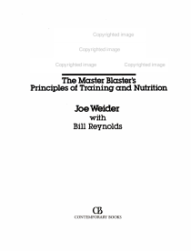 Joe Weider s Ultimate Bodybuilding PDF