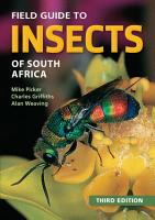 Field Guide to Insects of South Africa PDF