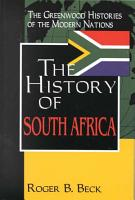 The History of South Africa PDF