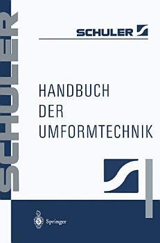 Handbuch der Umformtechnik PDF