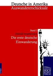 Die erste deutsche Einwanderung PDF
