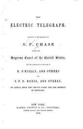 The Electric Telegraph: Substance of the Argument of