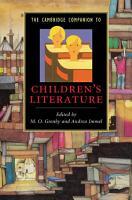 The Cambridge Companion to Children s Literature PDF