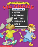 Scholastic Success With  5th Grade Workbook  Bind Up  Book