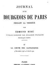 Journal d'un bourgeois de Paris pendant la Terreur: Volume4