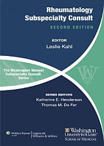 The Washington Manual of Rheumatology Subspecialty Consult PDF