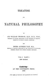 Treatise on Natural Philosophy: Volume 1, Issue 1