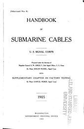 Signal Corps Manuals