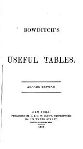 Bowditch's Useful Tables