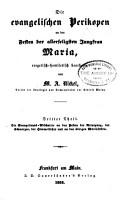 Die evangelischen perikopen PDF