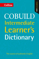 COBUILD Intermediate Learner   s Dictionary KINDLE ONLY EDITION PDF