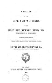 Memoirs of the life and writings of the rignt Rev. ---,D.D.,lord bishop of Worcestre