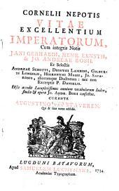 Cornelii Nepotis Vitae excellentium imperatorum,