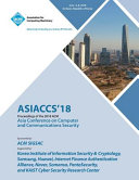 ASIACCS '18