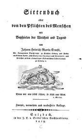 Sittenbuch oder von den Pflichten des Menschen: mit Beyspielen der Weisheit und Tugend
