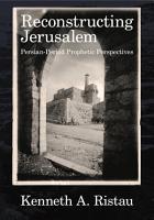 Reconstructing Jerusalem PDF