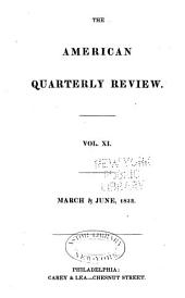 The American Quarterly Review: Issues 21-22