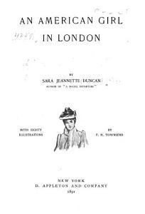 An American Girl in London Book