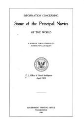 Information concerning some of the principal navies of the world: a series of tables compiled to answer popular inquiry