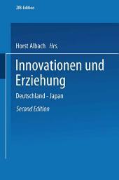 Innovationen und Erziehung: Deutschland — Japan
