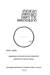 Mexican Folktales from the Borderland PDF