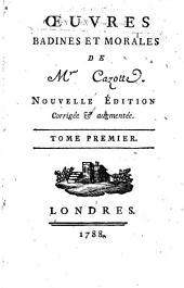 Oeuvres badines et morales. Nouvelle ed: Volume1