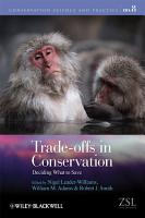 Trade offs in Conservation PDF
