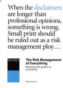 The Risk Management of Everything PDF