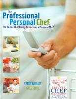 The Professional Personal Chef PDF