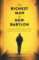 The Richest Man in New Babylon PDF