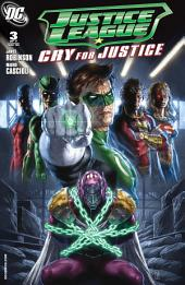 Justice League: Cry for Justice (2009-) #3