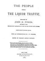 The People Versus the Liquor Traffic PDF