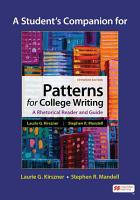 A Student s Companion for Patterns for College Writing PDF