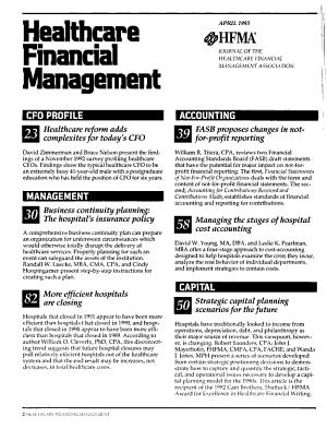 Healthcare Financial Management PDF