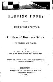 Progressive Parsing Book