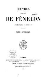 Oeuvres complètes de Fénelon ...