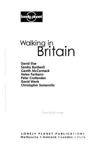 Walking in Britain PDF