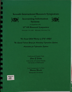 Seventh International Research Symposium on Accounting Information Systems in Conjunction with 14th AIS Research Symposium PDF