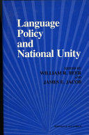 Language Policy and National Unity