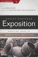 Exalting Jesus in Jeremiah  Lamentations PDF