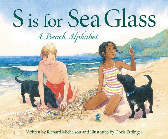 S is for Sea Glass  A Beach Alphabet PDF